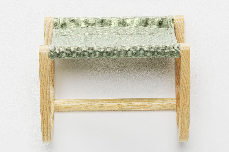 Ren portabici a parete in legno e tessuto disponibile - Portabici in legno ...