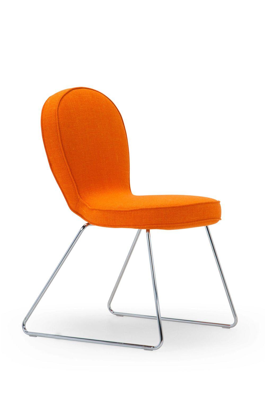 B4 sedia di design adrenalina in metallo con seduta for Sedia di design