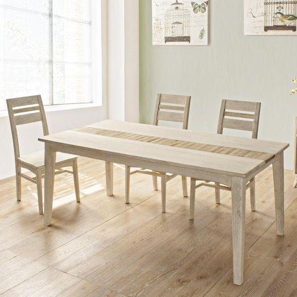 Clusia t tavolo shabby chic in legno disponibile in - Tavolo shabby chic ...