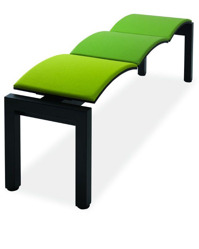 Panca Seduta Funzionale In Casa : Onda panca a posti in metallo seduta cuoio