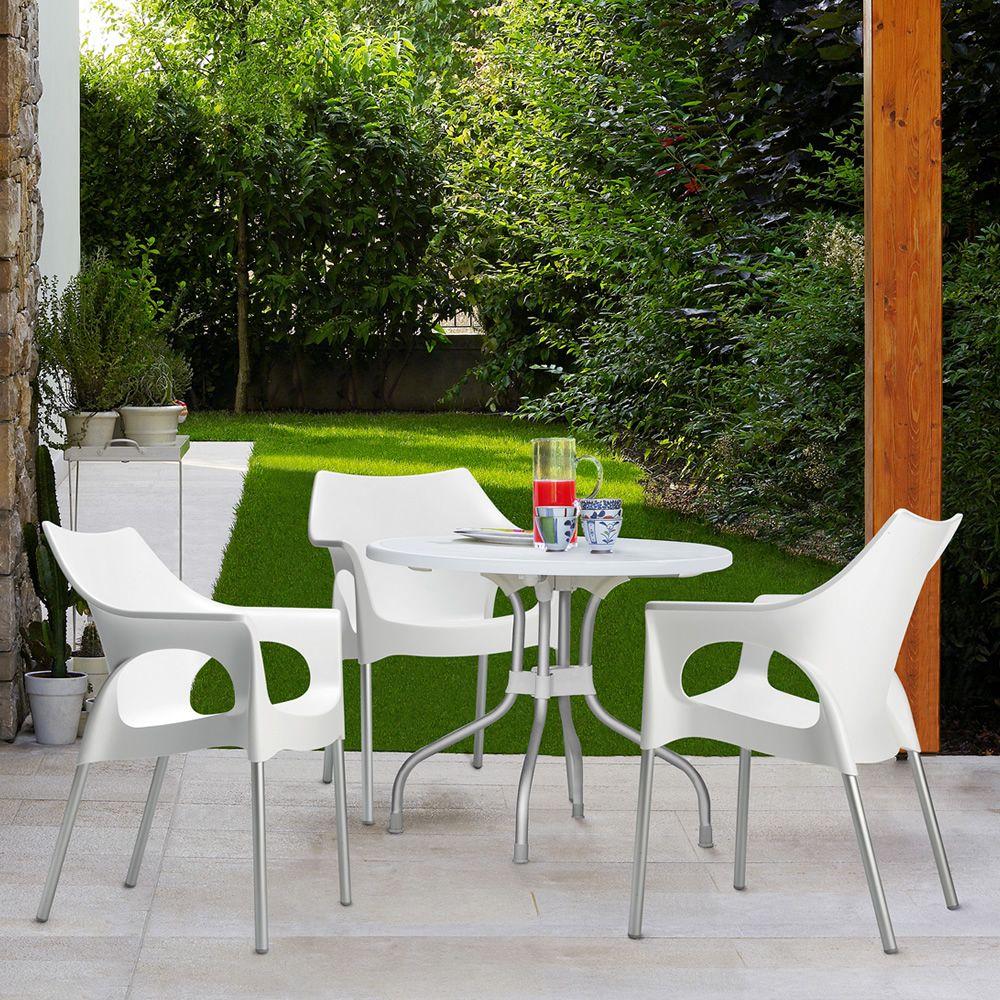 Ribalto top 188 tavolo da giardino con piano ribaltabile for Tavolo con sedie da giardino offerte