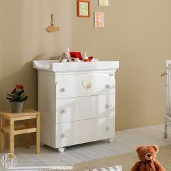belle f wickelkommode mit badewanne pali mit 3. Black Bedroom Furniture Sets. Home Design Ideas