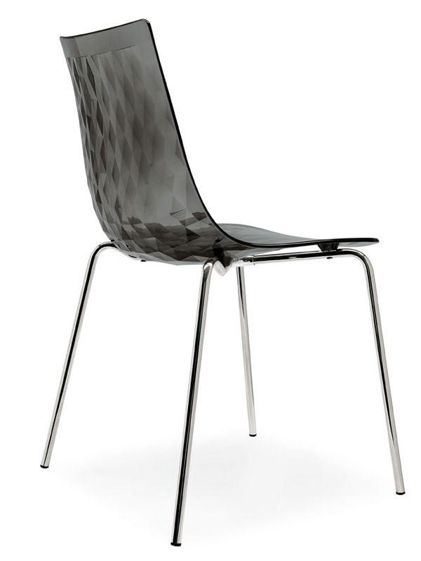 cb1038 ice stuhl connubia calligaris aus metall und san verschiedene verf gbare farben. Black Bedroom Furniture Sets. Home Design Ideas