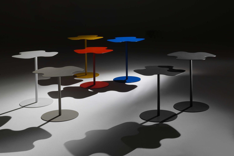 Flower tavolino di design bontempi casa in metallo disponibile