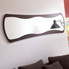 Lady at night - Specchio moderno con cornice in MDF, disponibile in diverse finiture