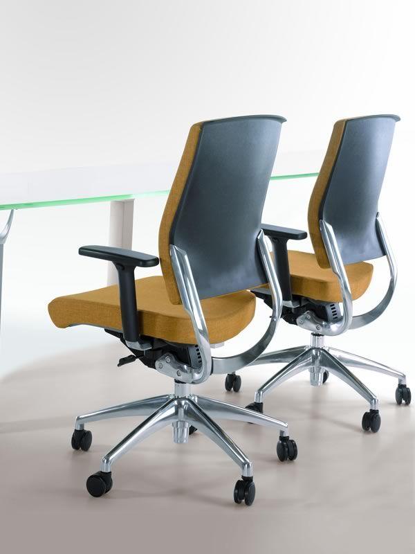 Ml451 sedia direzionale da ufficio con o senza for Sedia ufficio direzionale