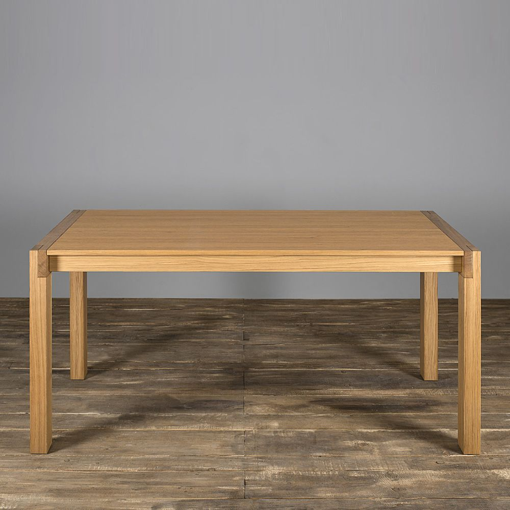 Tavolo 03 extendable table in oak wood 160x90 cm top for Table extensible 160 cm