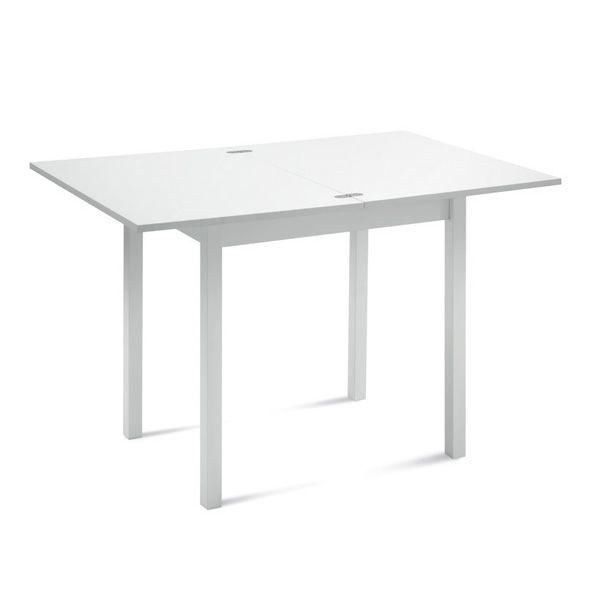 Hot m tavolo domitalia in legno e melaminico 80 x 60 cm for Tavoli laccati bianchi