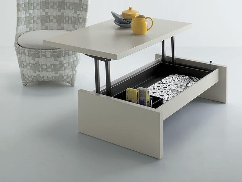 tritone - tavolino da salotto trasformabile in scrivania, diverse ... - Tavolo Soggiorno Trasformabile 2