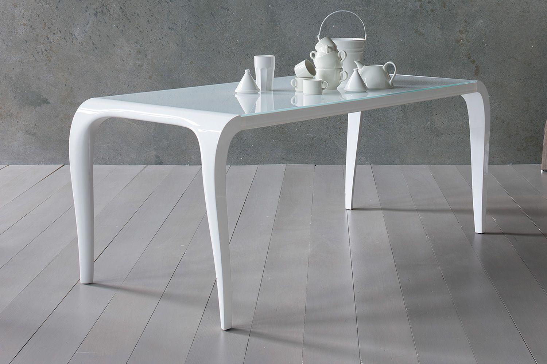 Aristocrito tavolo di design in poliuretano fisso o for Tavoli di design outlet