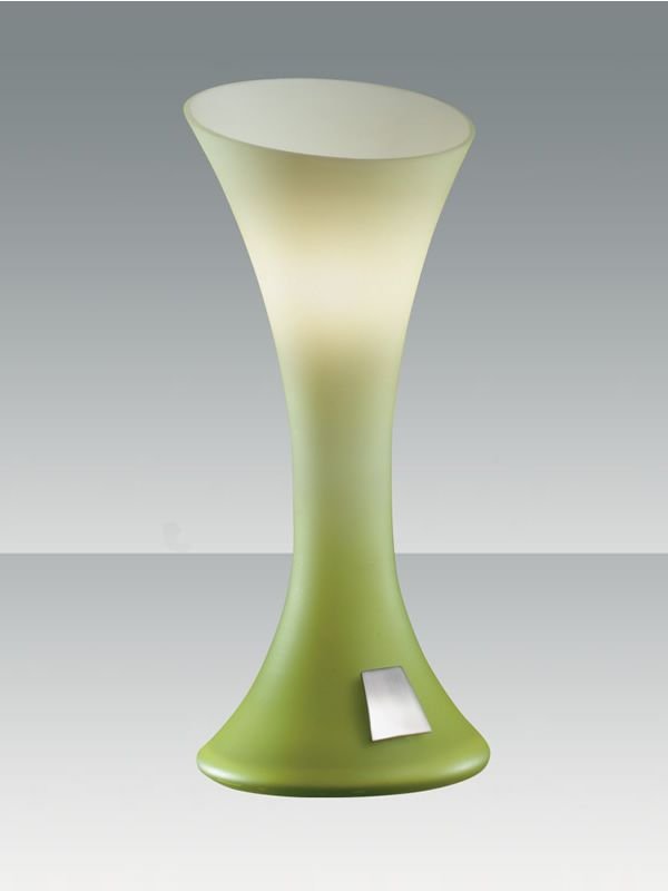 FA2586 - Lampada moderna da tavolo in vetro, diversi colori ...
