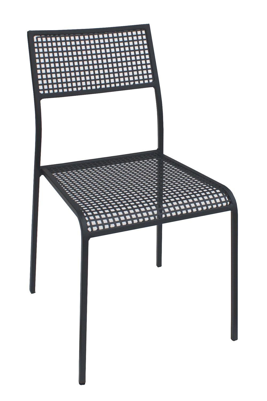 City per bar e ristoranti sedia in metallo per l for L esterno di un ristorante