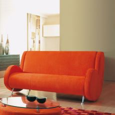 Ata XL - Designer sofa Adrenalina, 3 seats, available in different fabrics and colors