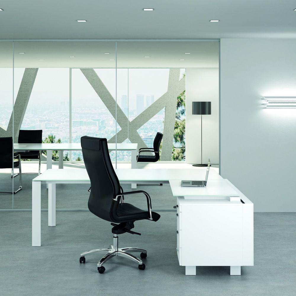 Office x7 02v scrivania direzionale per ufficio con for Scrivanie per ufficio