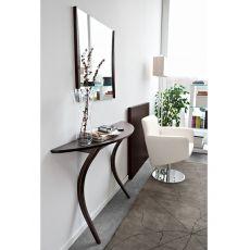 CS477 Modì - Consolle moderna Calligaris, in legno 125 x 33 cm