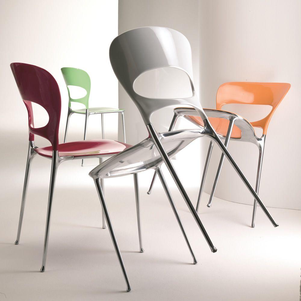 Tonia Off: Chair Bontempi Casa, in aluminium and nylon, available ...