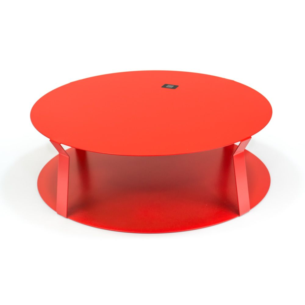 freeline2 table design ronde en m tal disponible en plusieurs couleurs sediarreda. Black Bedroom Furniture Sets. Home Design Ideas