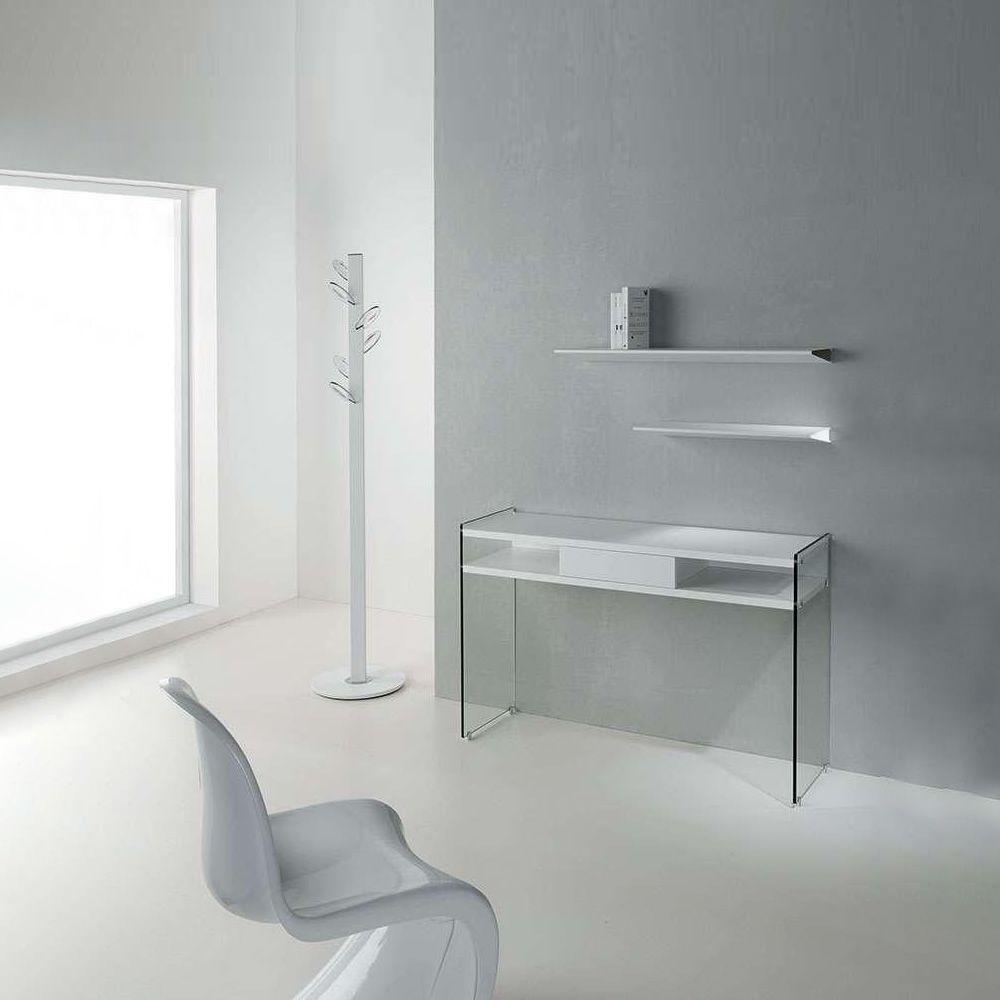 maya konsole aus geh rtem glas mit schublade und. Black Bedroom Furniture Sets. Home Design Ideas