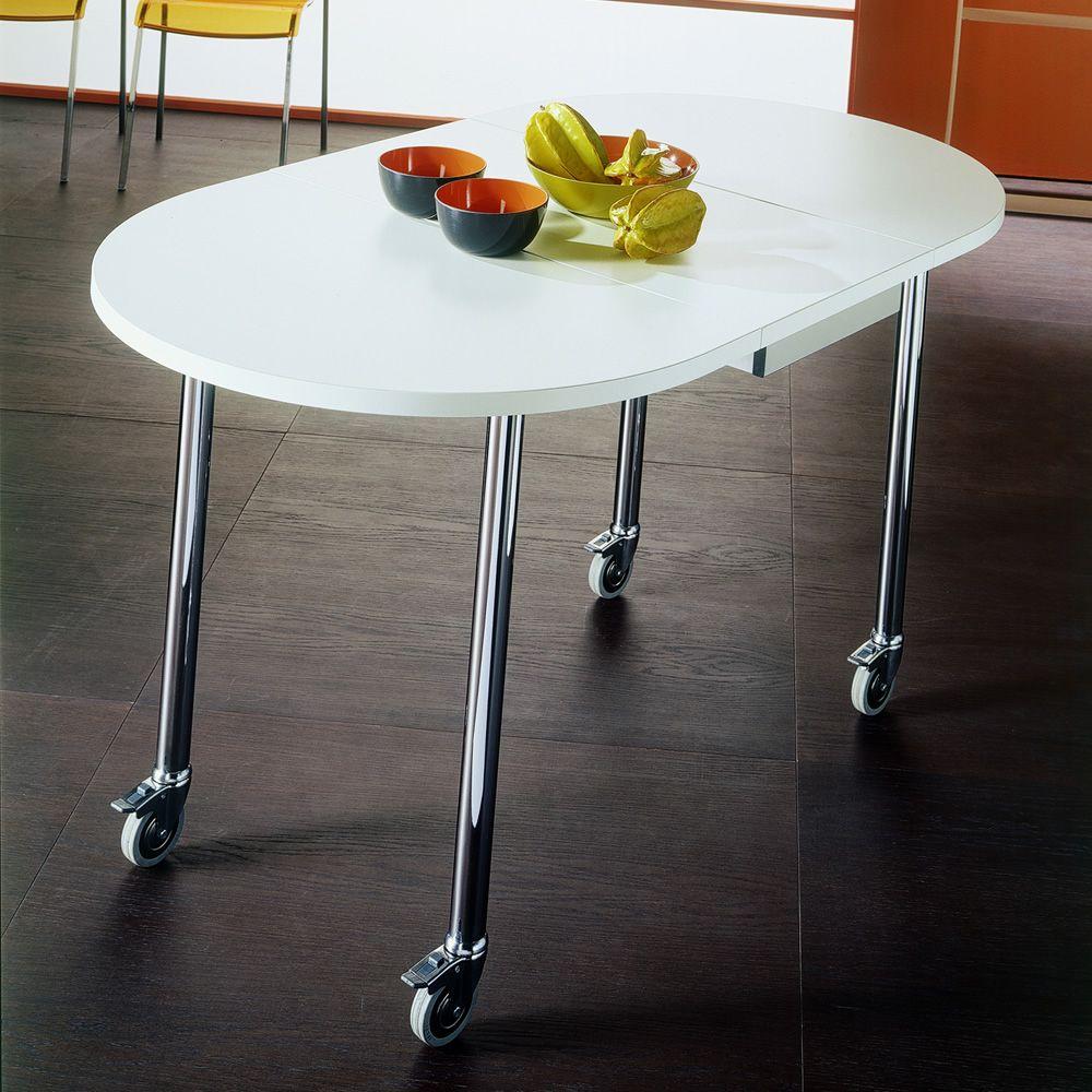 Flash free tavolo trasformabile bontempi casa - Tavolo con ruote ...