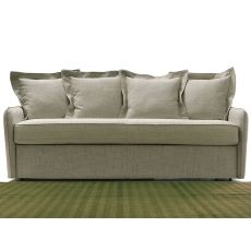 Lazio - Sofa bed, 2, 3 or 3XL seater, with removable fabric or imitation leather covering