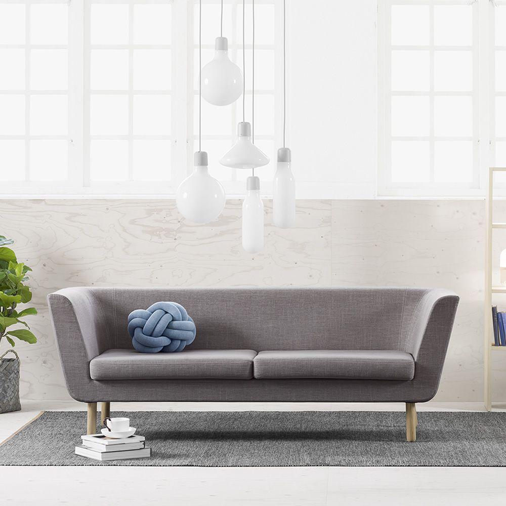 nest canap avec structure et pieds en bois rembourr et. Black Bedroom Furniture Sets. Home Design Ideas