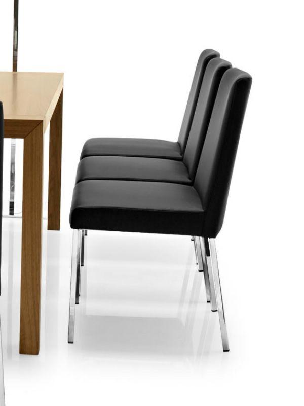 cb1286 amsterdam f r bars und restaurants barstuhl aus metall gepolstert mit leder oder. Black Bedroom Furniture Sets. Home Design Ideas