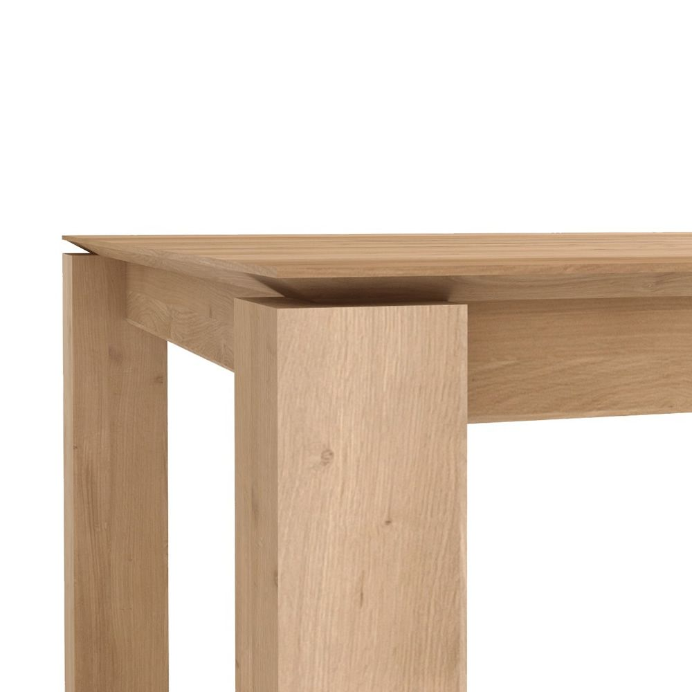 Slice a table ethnicraft en bois disponible en for Table chene rallonge