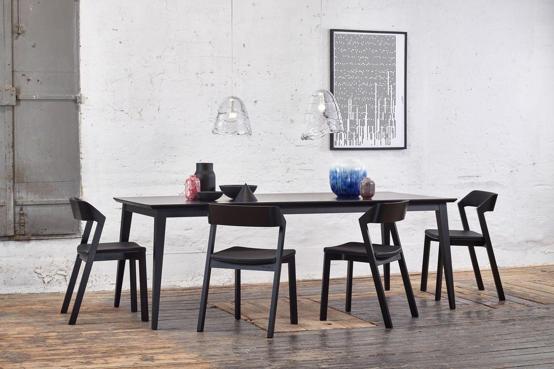 Jutland a tavolo ton in legno piano rettangolare 100 x for Tavolo alex b b