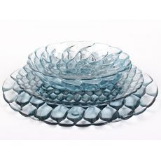 Jellies Family P | Kartell design plates in polymethylmethacrylate, available in several colour and types