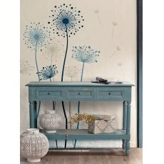 Costanza - Shabby chic consolle in wood, with drawers, in different colours