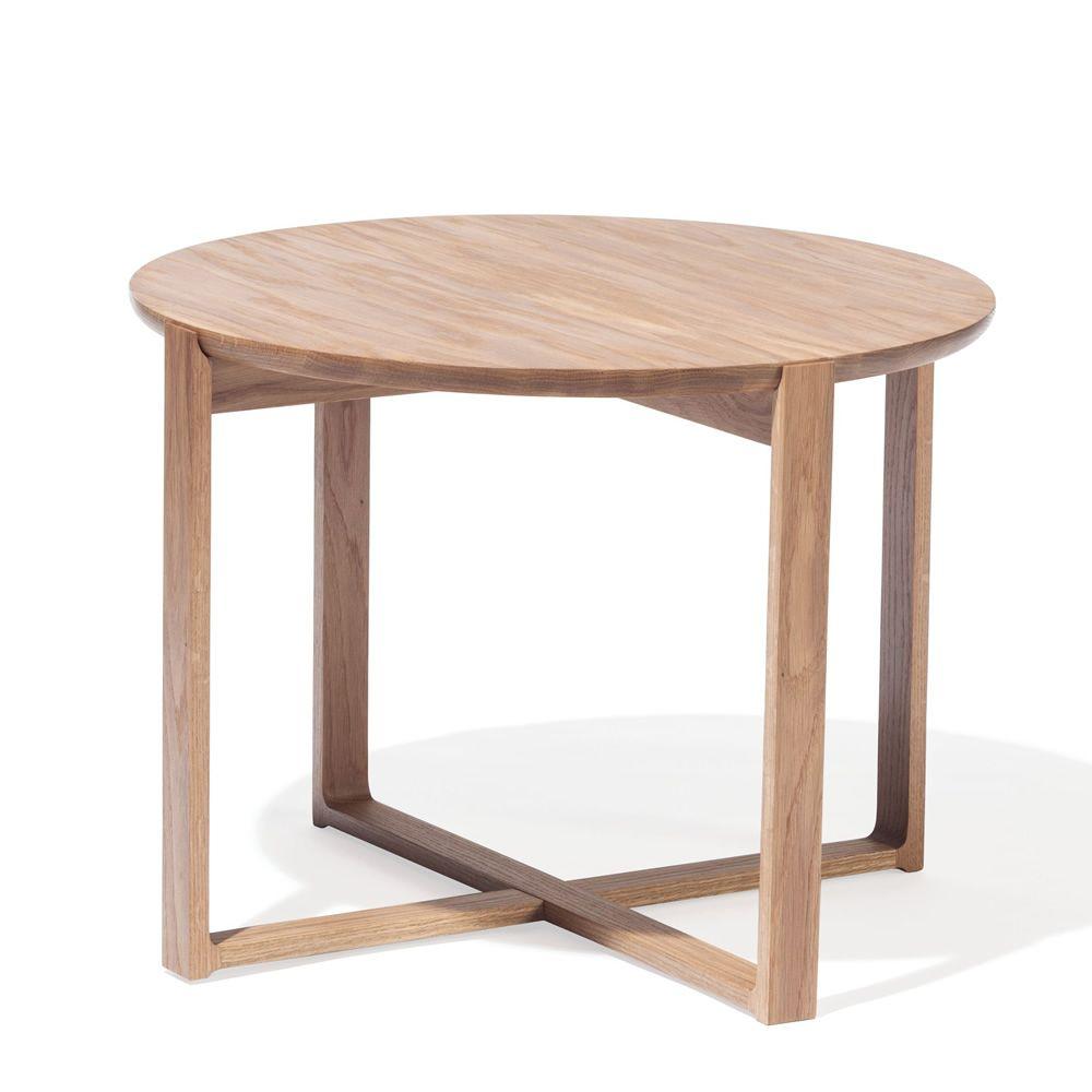 delta coffee 723 runder beistelltisch ton aus holz. Black Bedroom Furniture Sets. Home Design Ideas