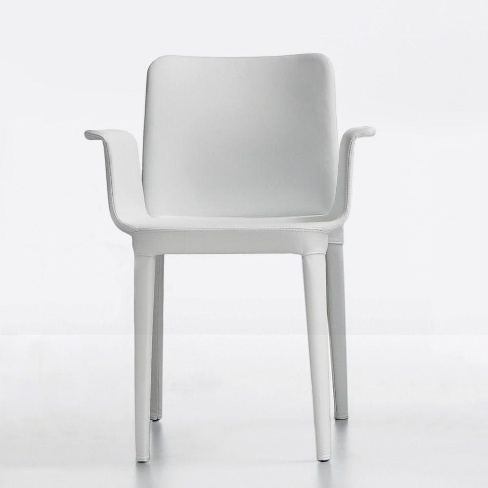 nen pr stuhl mit armlehnen midj mit leder stoff oder kunstleder bezogen sediarreda. Black Bedroom Furniture Sets. Home Design Ideas