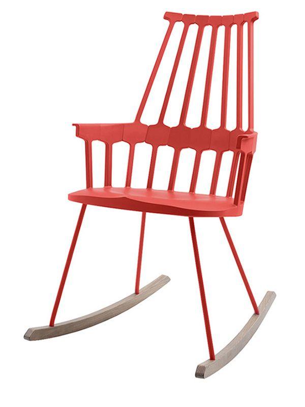 comback 5956 silla mecedora kartell de dise o en madera