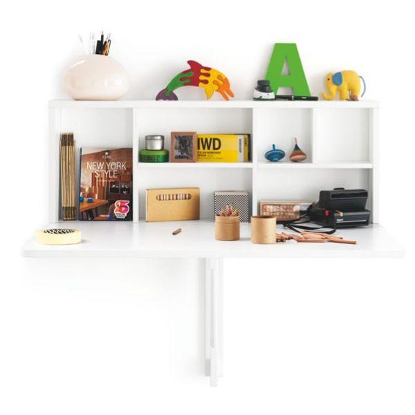 Cb4061 spacebox tavolo pieghevole da muro connubia - Tavolo a muro cucina ...