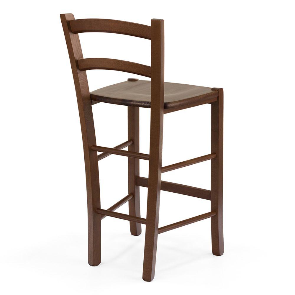199 b para bare y restaurantes taburete alto r stico en for Taburetes de madera rusticos