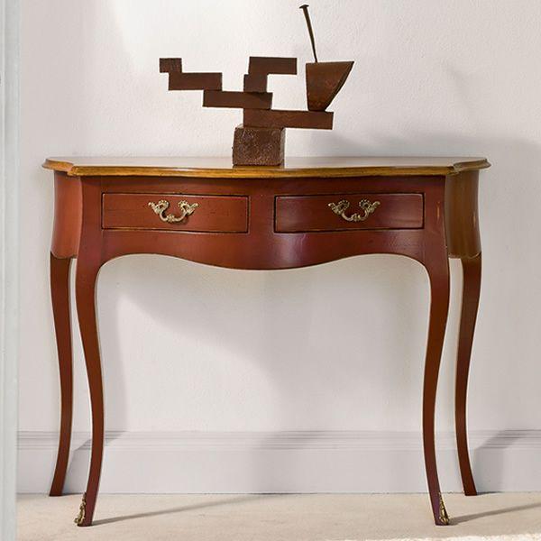 Ottante l 3800 consolle classica tonin casa in legno for Ingresso casa classica