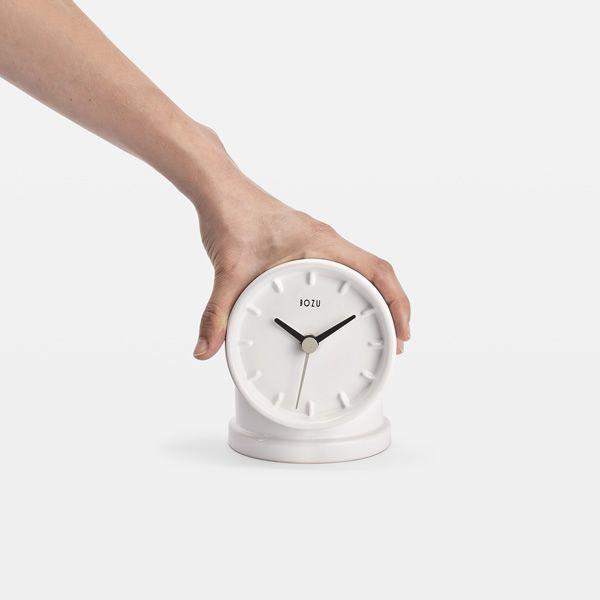 plumber orologio di design da tavolo in ceramica