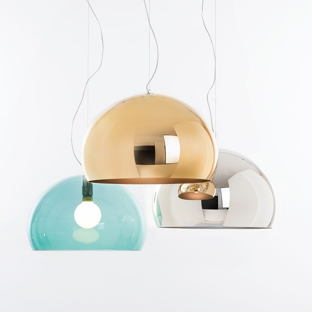 FL/Y Small - Design Kartell suspension lamp, in methacrylate ...
