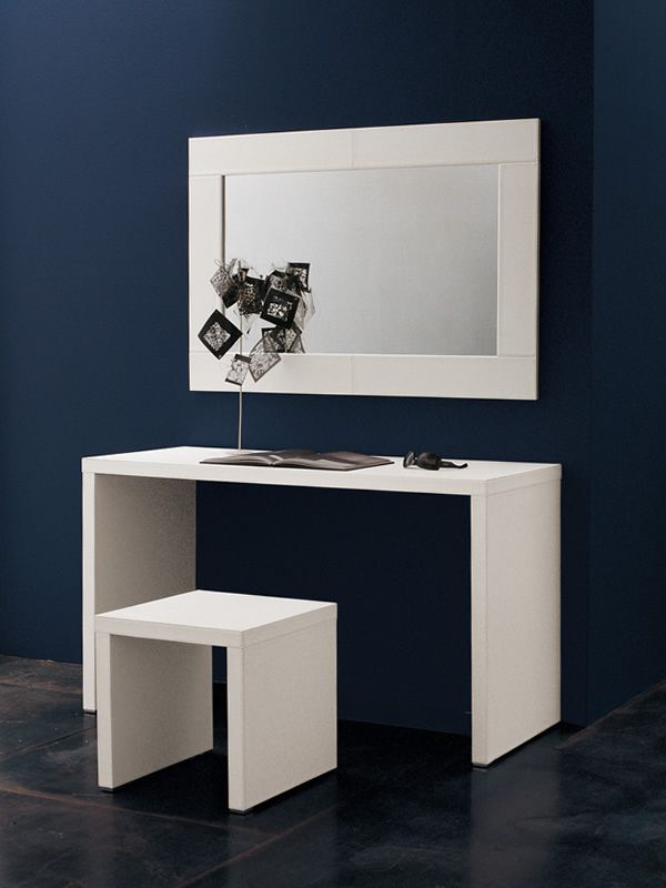 alices escritorio tapizado en cuero para la habitacin o la oficina