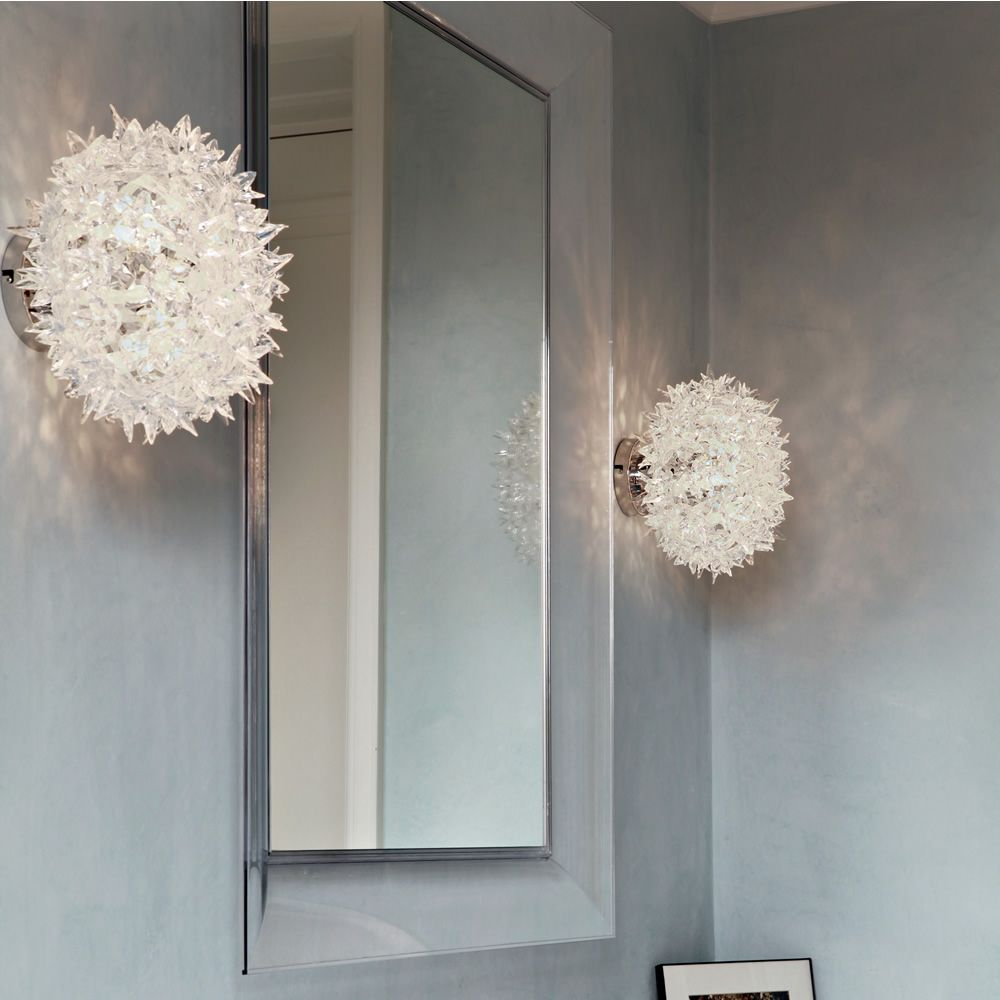 Bloom w lampada a soffitto kartell in tecnopolimero in for Lampade kartell outlet