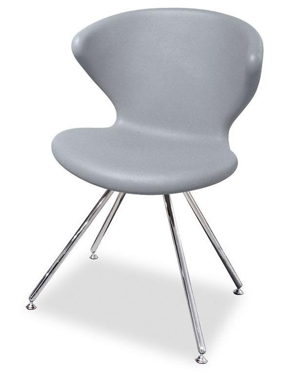 moderner stuhl good moderner stuhl stil nordica wei with. Black Bedroom Furniture Sets. Home Design Ideas