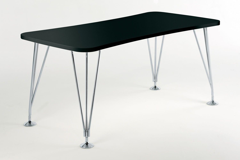 Max tavolo scrivania kartell di design in acciaio e laminato con