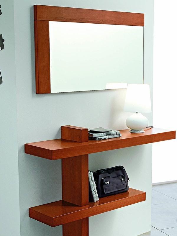 pa240 meuble entr e avec miroir et crochets diff rentes. Black Bedroom Furniture Sets. Home Design Ideas