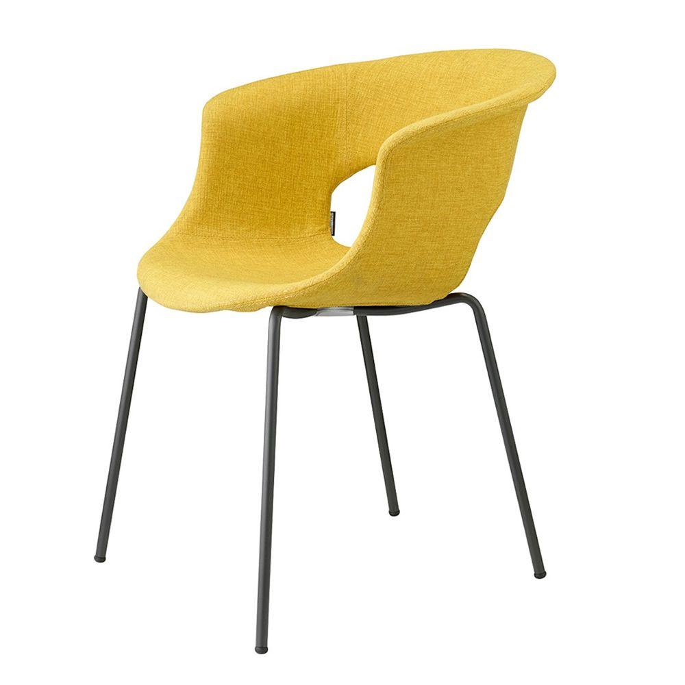 Miss b pop 2686 silla de metal con tapizado en tejido - Tapizado de silla ...