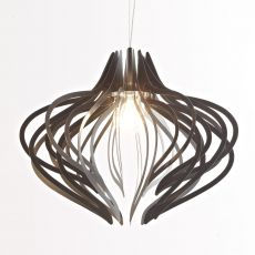 Medusa Iron XL - Colico Design suspension lamp, in anthracite grey varnished steel