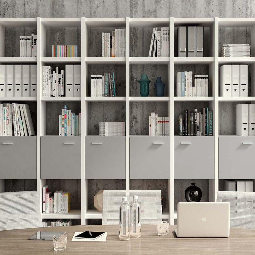 Libreria Bifacciale A Soffitto libreria 03