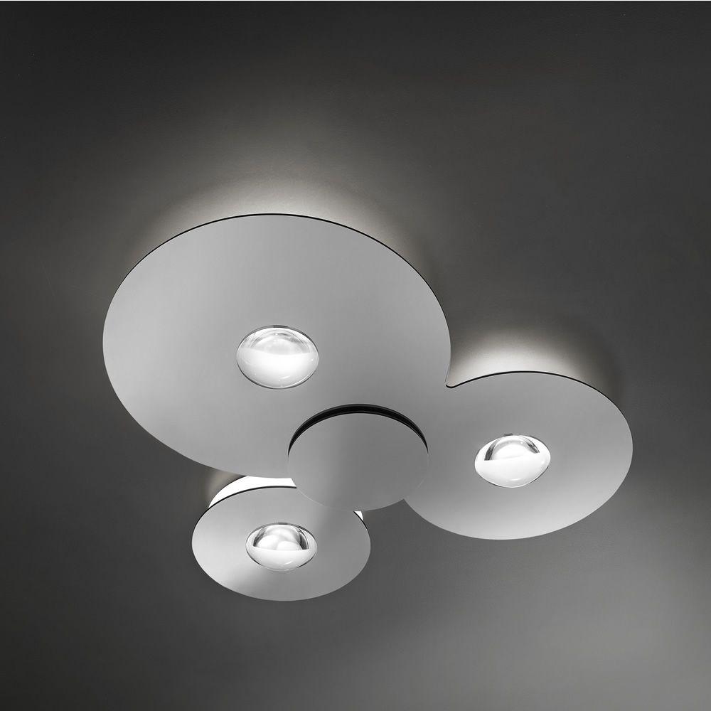 Bugia - Lampada da soffitto di design, in metallo e plexiglass ...