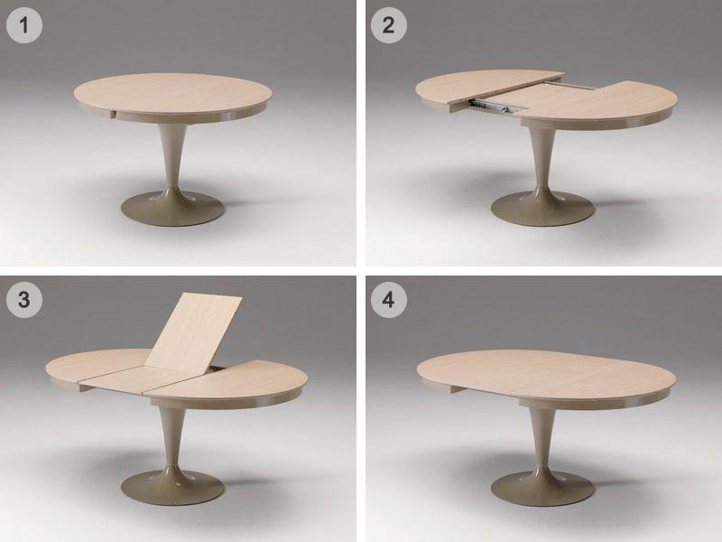 Eclipse Tavolo Rotondo Allungabile.Tavolo Eclipse Di Ozzio Design Tavolo Consolle Allungabile Golia