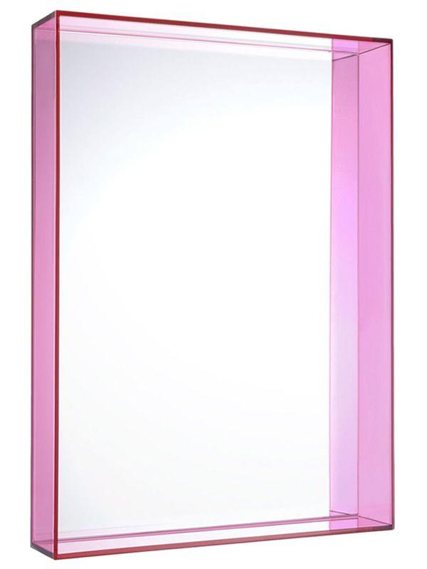 Only me specchio kartell di design cornice in polimero disponibile in diversi colori e - Kartell specchio ghost ...