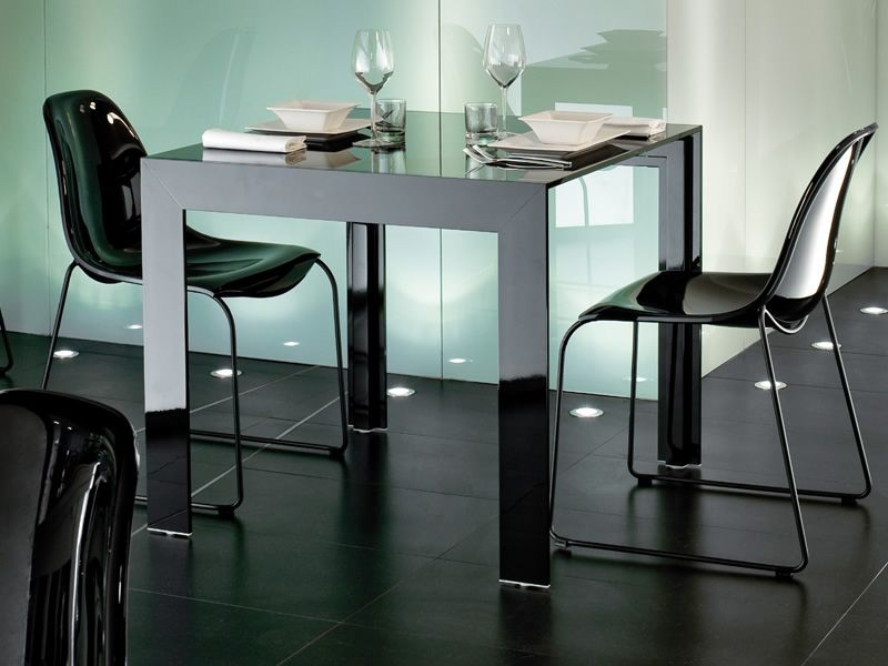 matrix designer tisch pedrali aus aluminium mit. Black Bedroom Furniture Sets. Home Design Ideas